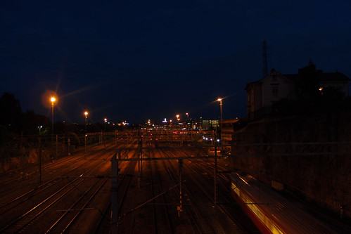 Summer 2011 - On my way home at night