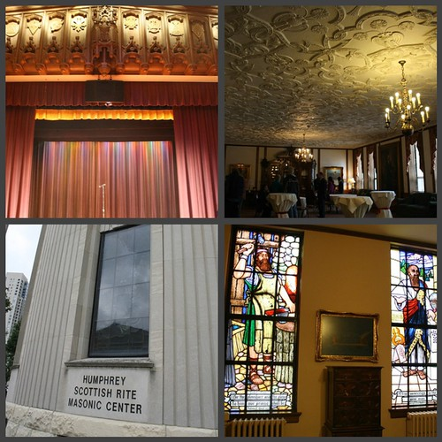 Picnik collage Scottish Masonic building