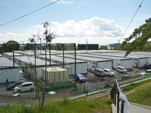 平林応急仮設住宅, 大船渡市末崎町でボランティア Volunteer at Ofunato, Iwate pref. Deeply Affected Area by the Tsunami of Japan Earthquake