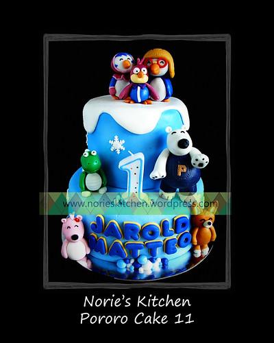Norie's Kitchen - Pororo Cake 11 by Norie's Kitchen