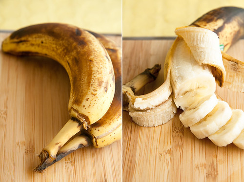 Banana - Before and After