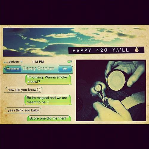 Happy #420 y'all 