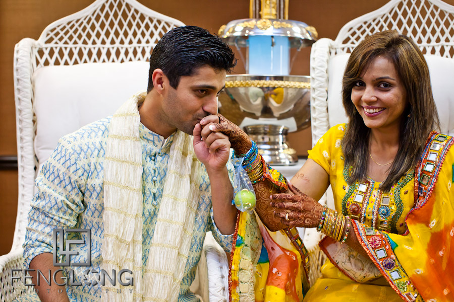Bride & Groom after Ceremony | Shamz & Sana's Wedding Day 2 | Hyatt Place Atlanta Airport South | Atlanta Indian Photographer