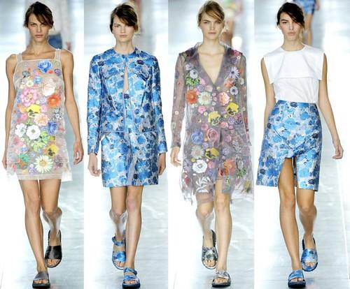 CK Spring 2012 skirts dresses