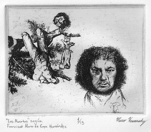 """""""Los Muertos"""" según Francisco Marco de Goya Hernandez"""