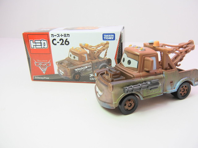 disney cars 2 tomica c-26 spy mater (2)