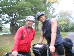 Bike Commute 113: Mom and Son on Tour by Rootchopper