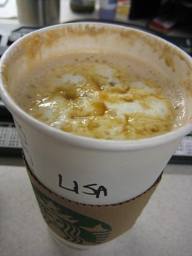 Salted Caramel Mocha Starbucks