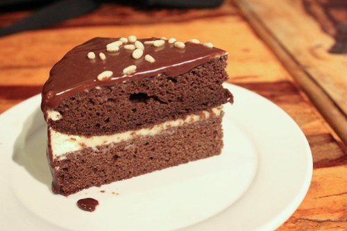 Chocolate Cake at Cafe Uno