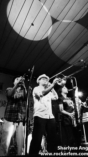 The Horns Section - Radioactive Sago Project - Rock Rizal 3