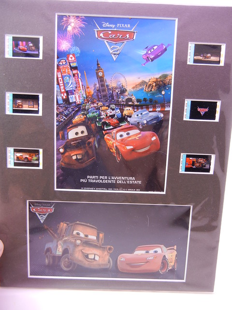 disney cars custom film slide plaque (1)