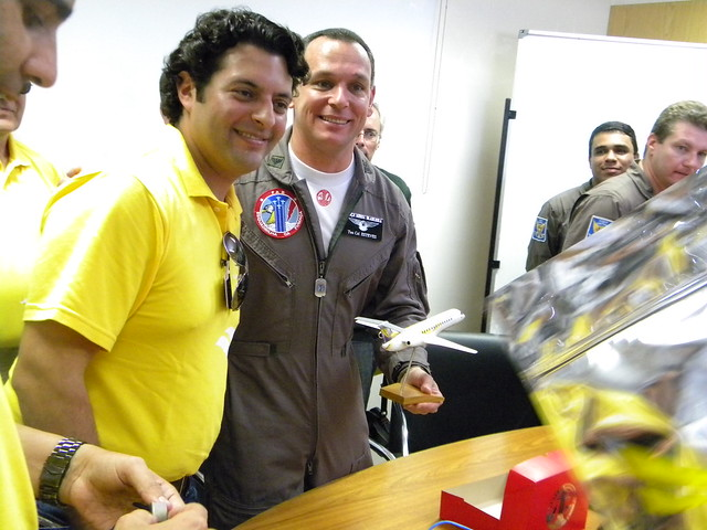 Comandante Felício e Ten. Cel Esteves. Foto por João Vitor Balduino.