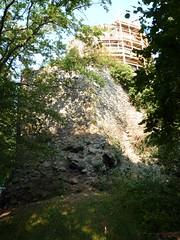 Zamek Lenno z XIIw. by Polek