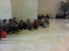 Beijing sit-in protest