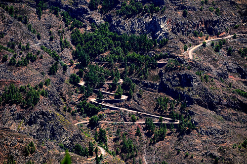"""Chapter 4 - The green side of La Gomera (#4): Blue """"Highways"""""""