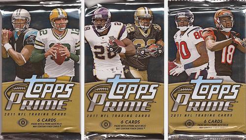 2011 Topps Prime packs