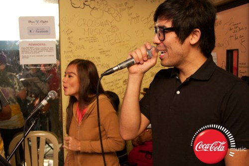 Champ and Kitchie at Coke Music Studio - 4