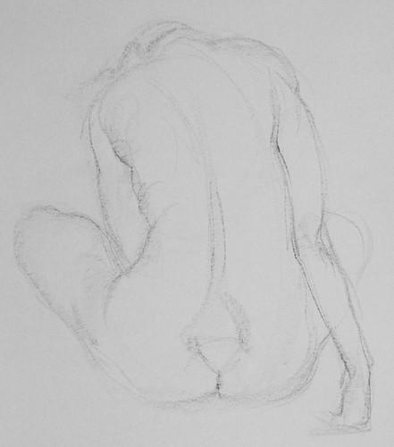 2 minute gesture drawing
