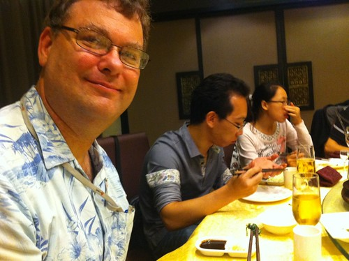 John Plocher in Shenzhen China