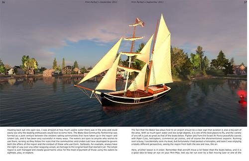 Prim Perfect No. 36: Sailing on the Blake Sea