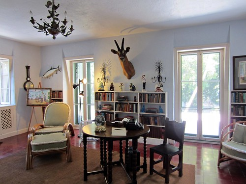 hemingway's studio