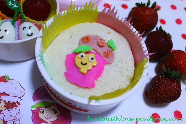 Strawberry Shortcake Bento