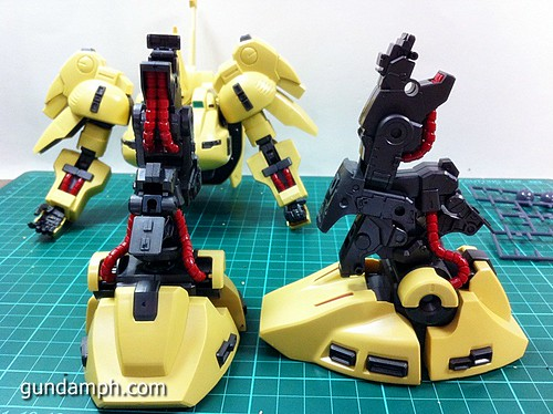MG The-O PMX-003 Review OOB Build (34)