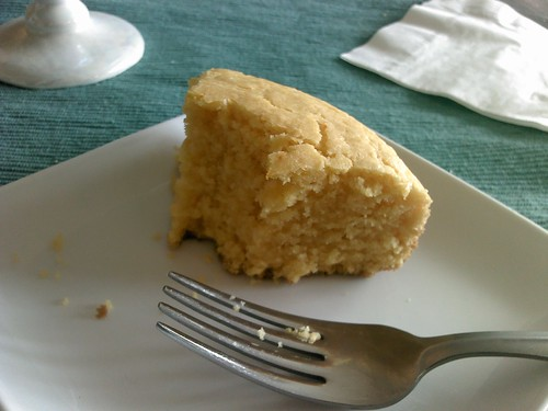 Custard powder snack cake