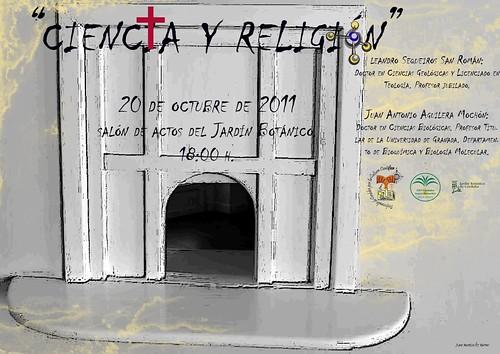 CIENCIA Y RELIGIÓN. Organiza asociación Profesorado de Córdoba por la Culttura Científica (APCCC).