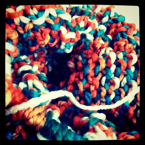 Latest project & I am mildly obsessed with this yarn.