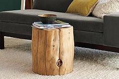 Attirant Need A Tree Stump End Table No Problem Diy Del Ray