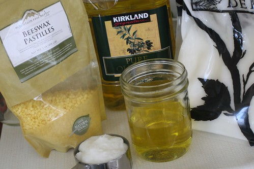 Homemade Beeswax Lotion