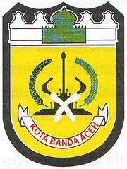 Lambang Kota Banda Aceh, Foto Kota Banda Aceh, Banda Aceh, Foto Kota,