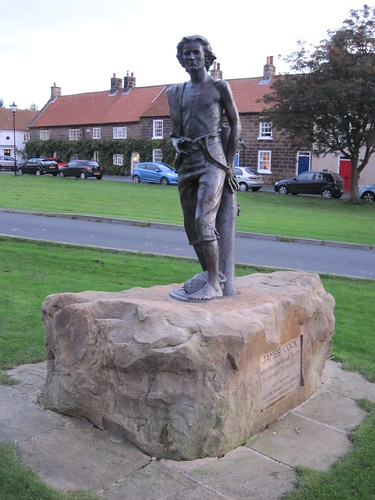 Captain James Cook Statue - Great Ayton