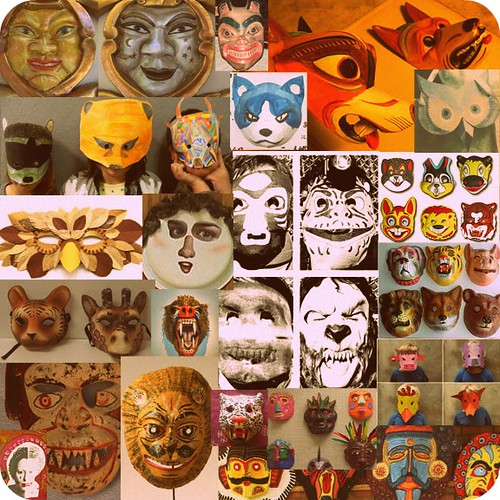 masks - mood boards