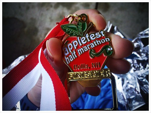 Finishers medal is a bottle opener.