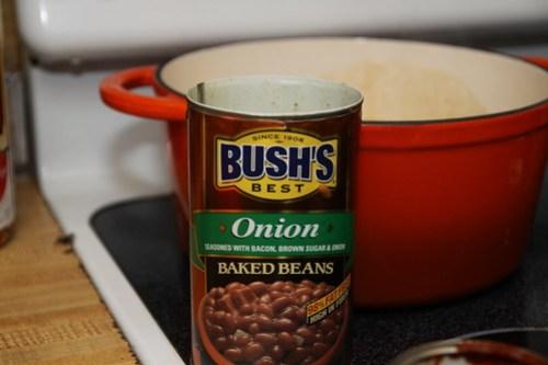 Onion Bush's Beans