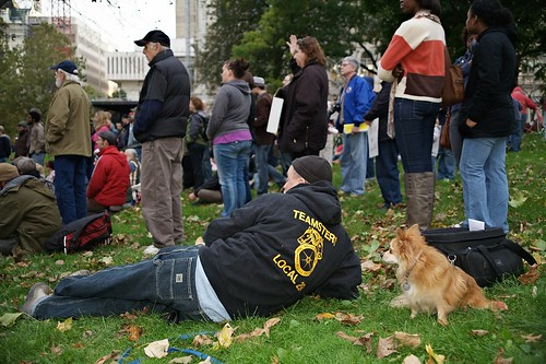 Occupy Albany, 10.21.2011