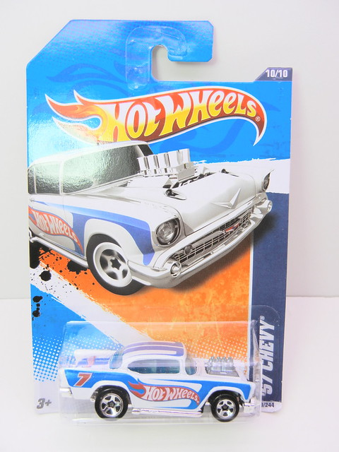 hot wheels '57 chevy white (1)