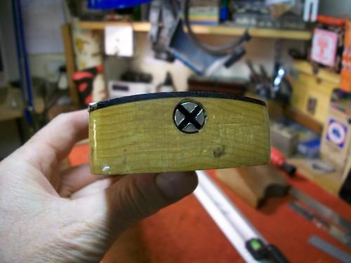 Fender Bass Repair : 1969 Fender Precision Bass Truss-Rod Repair (4/6)