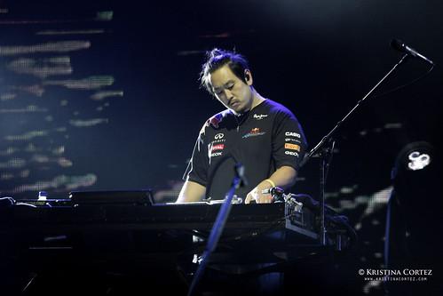 Linkin Park at 2011 F1 Singapore Grand Prix (3/6)