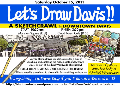 let's draw davis october 15, 2011