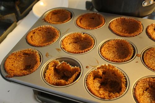 cupcake failure-sunken in