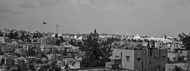 Amman - Skyline from Rainbow Street