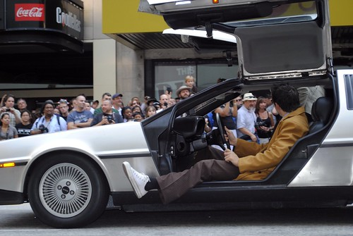 12 and 27b - The Doctor Drives a Delorean!