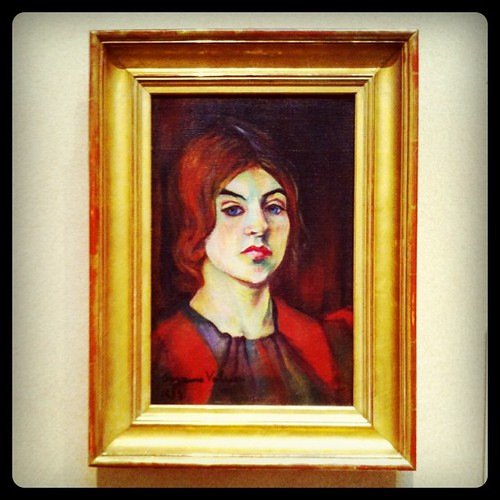 I love this self-portrait of Suzanne Valadon