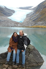 In front of Svartisen Glacier
