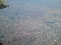 Flying Over Phoenix