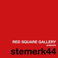 RED SQUARE GALLERY presents Steffen Merkle a.k.a. stemerk44