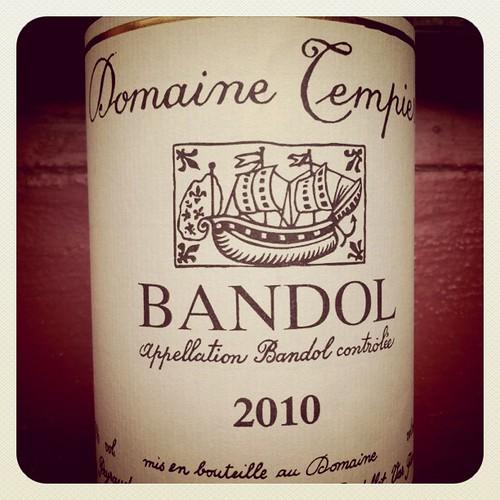 Domaine Tempier Rose 2010, Bandol